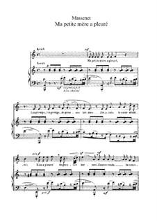 Ausgewählt Lieder VI: Ausgewählt Lieder VI by Jules Massenet