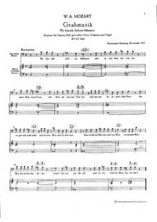 Ausgewählte Kantaten für Stimmen, Orgel und Orchester: Ausgewählte Kantaten für Stimmen, Orgel und Orchester by Wolfgang Amadeus Mozart