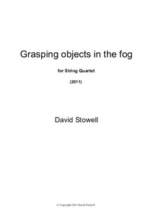 Grasping objects in the fog: Grasping objects in the fog by David Stowell