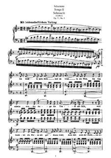 Lieder und Gesänge, Op.51: Vollsammlung by Robert Schumann
