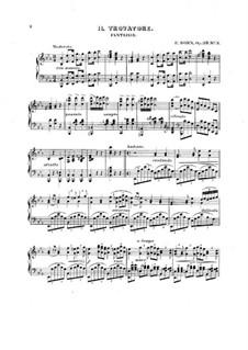 Fantasie über Themen aus 'Der Troubadour' von Verdi, Op.39 No.3: Fantasie über Themen aus 'Der Troubadour' von Verdi by Edouard Dorn