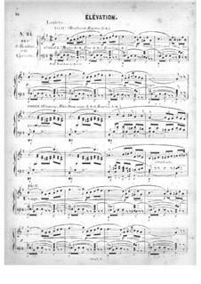 Fünfzig Stücke für Orgel, Op.24: No.24 Élévation in G Major by Edouard Batiste