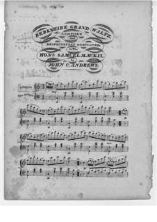 Berkshire Grand Waltz: Berkshire Grand Waltz by John Charles Andrews