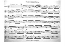 Passionary Waltz: Version for marimba and piano by Ruslan Moiseev