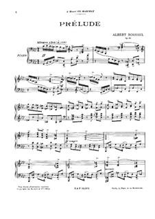 Präludium und Fuge, Op.46: Präludium und Fugue by Albert Roussel