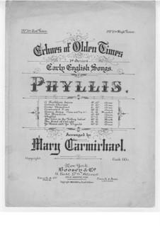 Phyllis: Phyllis by Thomas Arne