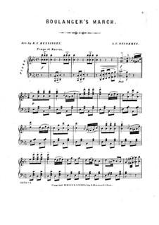 General Boulanger's March: General Boulanger's March by Louis César Desormes