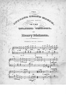 The Indiana Grand March: The Indiana Grand March by Henry Dielman