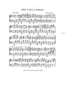 New Y.M.C.A. March: New Y.M.C.A. March by Isaac Doles
