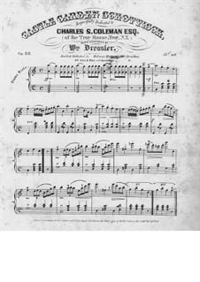 Castle Garden Schottisch, Op.53: Castle Garden Schottisch by William Dressler