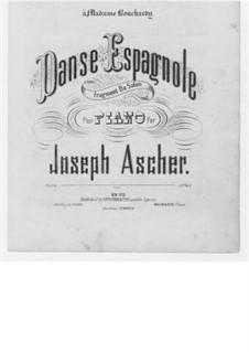 Danse Espagnole, Op.24: Für Klavier by Joseph Ascher