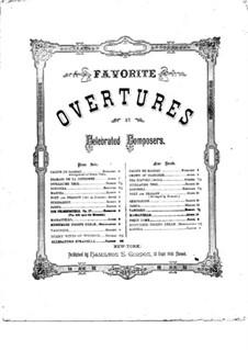 Ouvertüre: Für Klavier by Daniel Auber