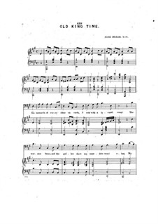 Old King Time, Op.19: Old King Time by Irving Emerson