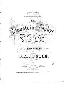 The Mountain Zephyr: The Mountain Zephyr by J. A. Fowler