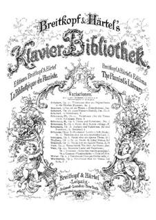 Variationen über ein eigenes Thema, Op.35: Variationen über ein eigenes Thema by Franz Schubert