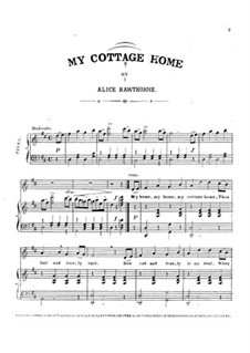 My Cottage Home: My Cottage Home by Septimus Winner
