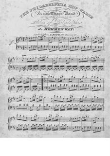 The Philadelphia Hop Waltz: Für Klavier by James Hemmenway