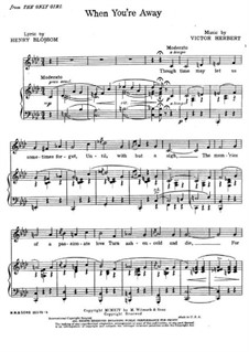 When You're Away: When You're Away by Victor Herbert