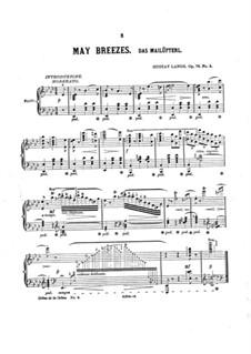 Das Mailüfterl, Op.79 No.5: Für einen Interpreten by Gustav Lange