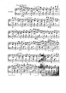 Souvenir a Baltimore for Piano: Souvenir a Baltimore for Piano by Carl Hohnstock