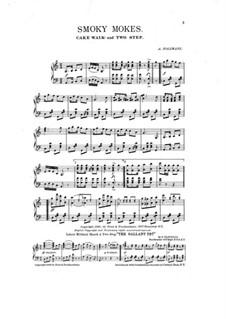Smoky Mokes: Für Klavier by Abe Holzmann