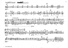 Rondell for trombone solo and time delay: Rondell for trombone solo and time delay by Rolf Gehlhaar
