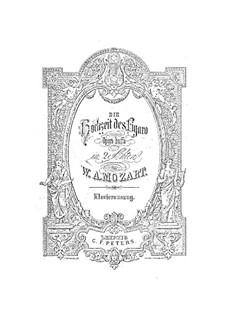 Vollständige Oper: Nr.1-9, für Klavier by Wolfgang Amadeus Mozart