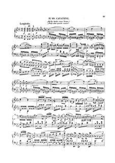 Vollständige Oper: Akt II, für Klavier by Wolfgang Amadeus Mozart