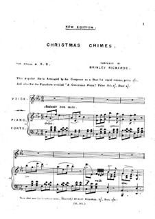 Christmas Chimes: Für Stimme und Klavier by Brinley Richards