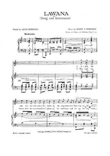 Lawana: Lawana by Harry I. Robinson