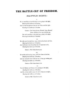 Battle Cry of Freedom: Battle Cry of Freedom by George Frederick Root