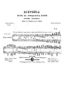 Der Prophet: Ouvertüre, für Klavier by Giacomo Meyerbeer