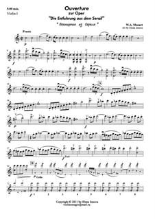 Ouvertüre: Für treichorchester by Wolfgang Amadeus Mozart