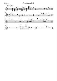 Promenade IV: Für Streichinstrumente – Stimmen by Modest Mussorgski