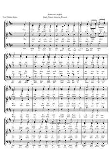 Winterreise, Op.23: Nr.10 Rast by Werner Schneider-Wiegand