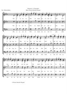 Winterreise, Op.23: Nr.12 Einsamkeit by Werner Schneider-Wiegand