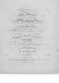 The Fairy: The Fairy by Michael William Balfe