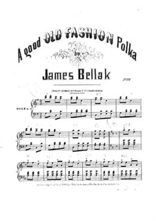 A Good Old Fashion Polka: A Good Old Fashion Polka by James Bellak