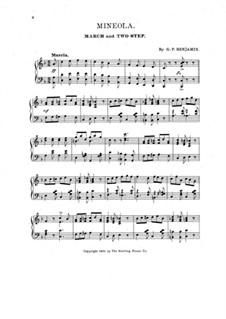 Mineola: Mineola by G. P. Benjamin