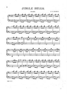 Jingle Bells for Piano Four Hands: Jingle Bells for Piano Four Hands by John Sylvester Fearis