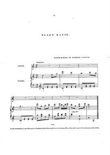 Ellen Bayne: Für Stimme und Klavier by Stephen Foster