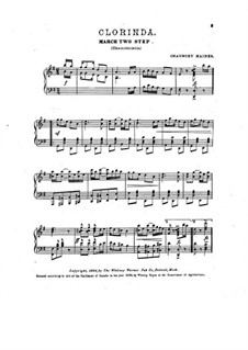 Clorinda. March Two-Step: Clorinda. March Two-Step by Chauncey Haines