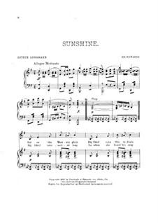 Sunshine: Sunshine by Emil Edouard