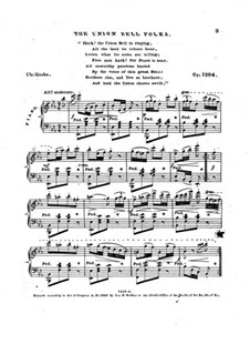 The Union Bell Polka, Op.1204: The Union Bell Polka by Charles Grobe