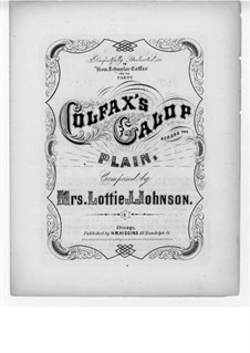 Colfax's Galop Across the Plain: Colfax's Galop Across the Plain by Lottie J. Johnson