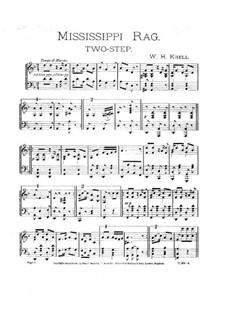 Mississippi Rag: Für Klavier by William Krell