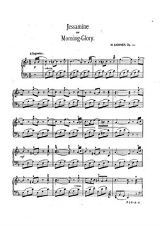 Bunte Blumen, Op.111: No.4 Jessamine (or Motning-Glory) by Heinrich Lichner