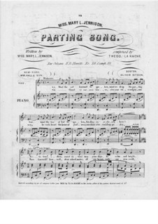 Parting Song: Parting Song by Theodore von La Hache