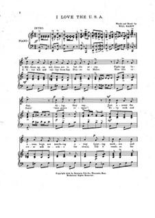 I Love the U. S. A. Song: I Love the U. S. A. Song by Will Hardy