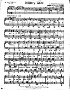 Military Waltz: Military Waltz by Frederic Knight Logan
